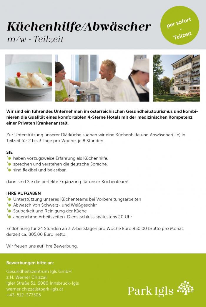 Küchenhilfe Jobs Basel ~ küchenhilfe abwäscher in innsbruck gesucht bewirb dich auf jobs tt com