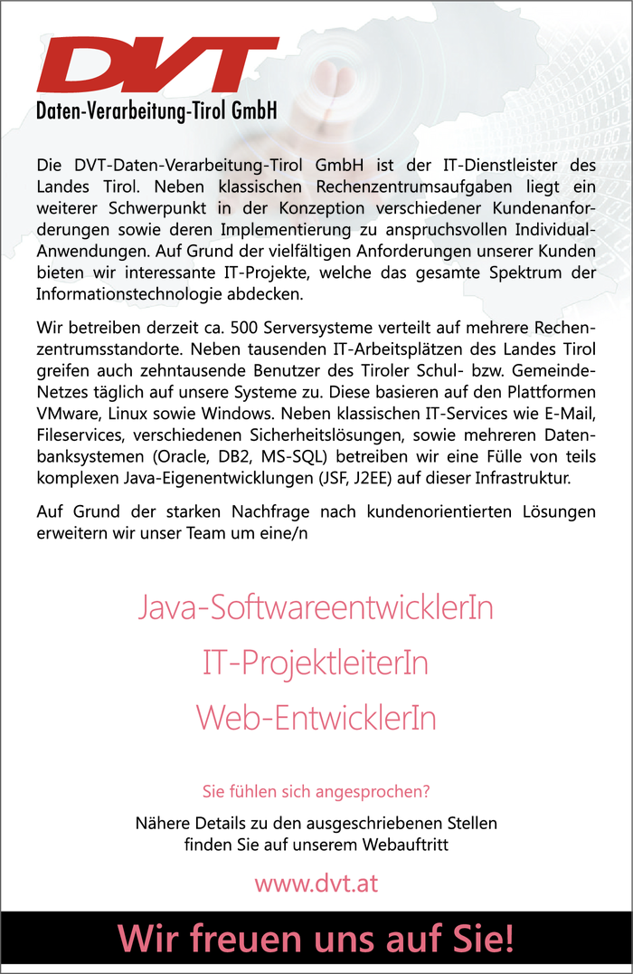 Java-SoftwareentwicklerIn & IT-ProjektleiterIn & Web-EntwicklerIn