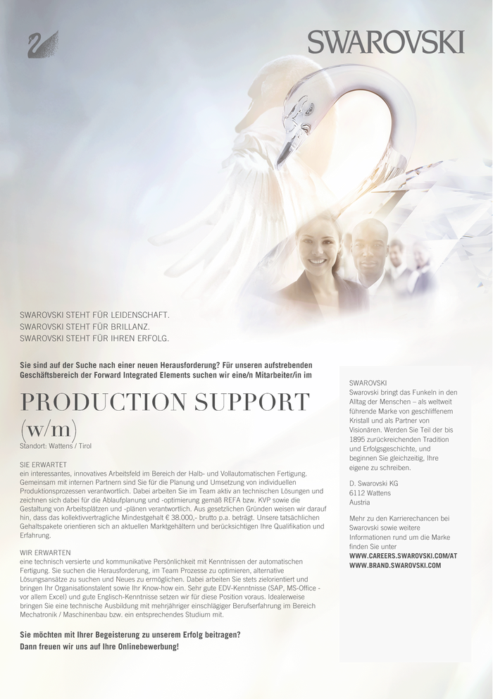 PRODUCTION SUPPORT (w/m) a
