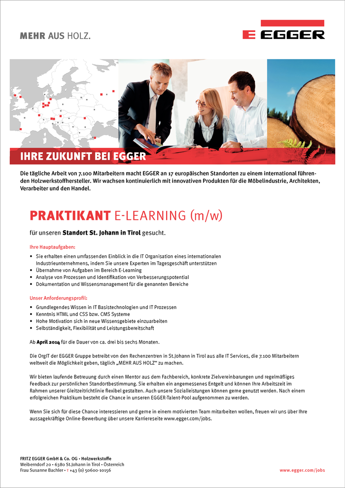 Praktikant E-Learning (m/w)