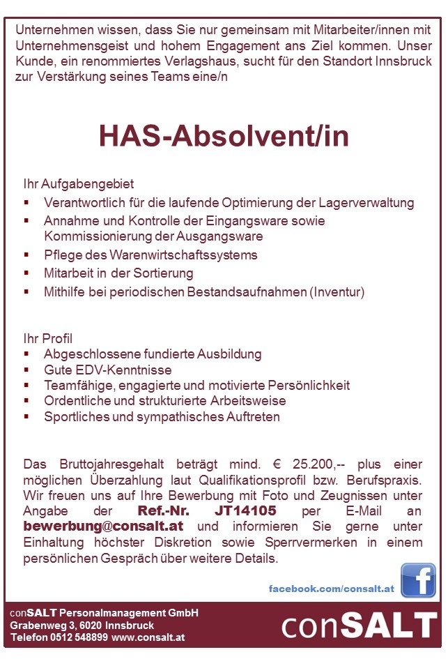 HAS-Absolvent/in