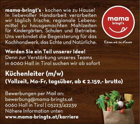 Küchenleiter (m w) in Hall in Tirol gesucht bewirb dich auf jobs tt com