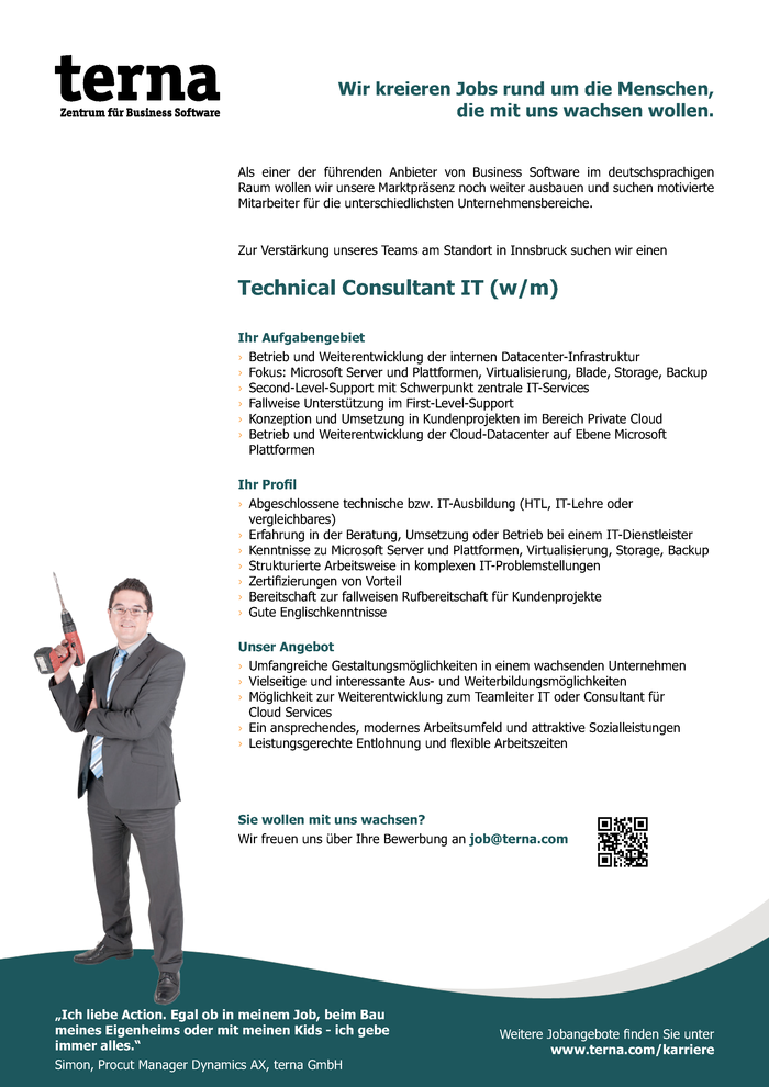 Technical Consultant IT (w/m)