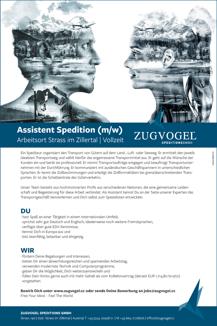 Assistent Spedition (m/w)
