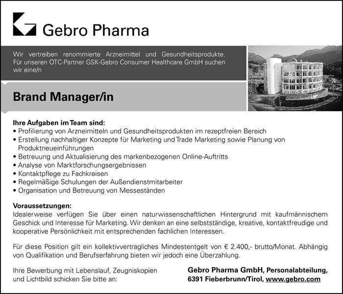 Brand Manager/in