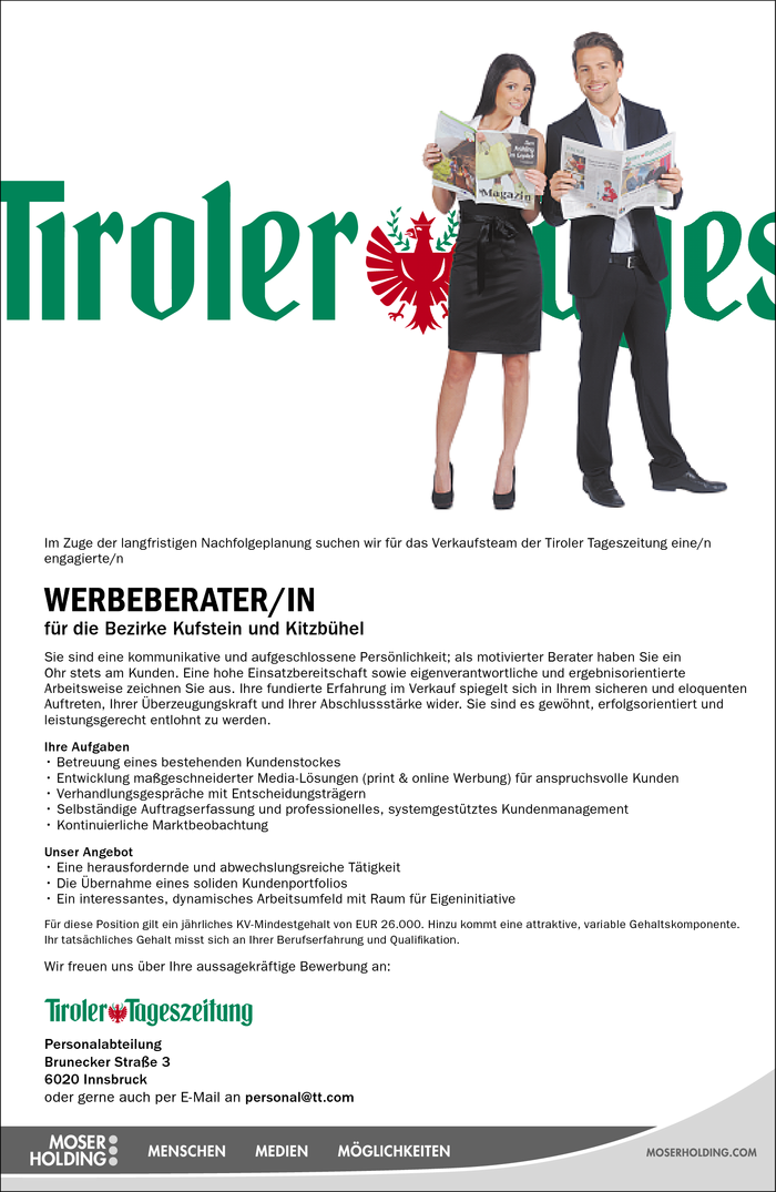 Werbeberater/in