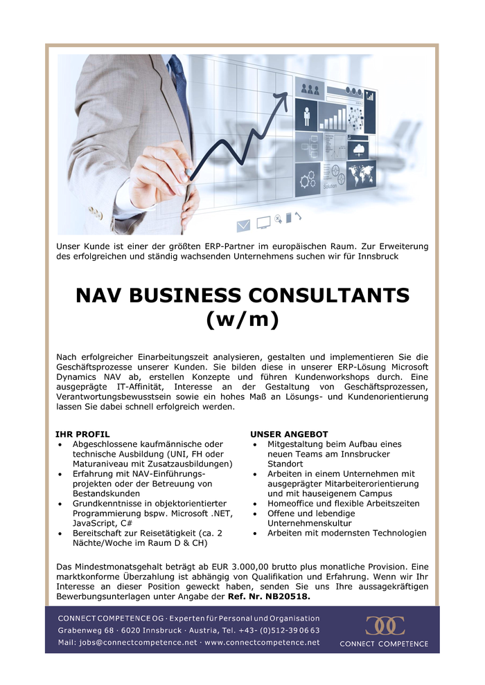 NAV BUSINESS CONSULTANTS (w/m)