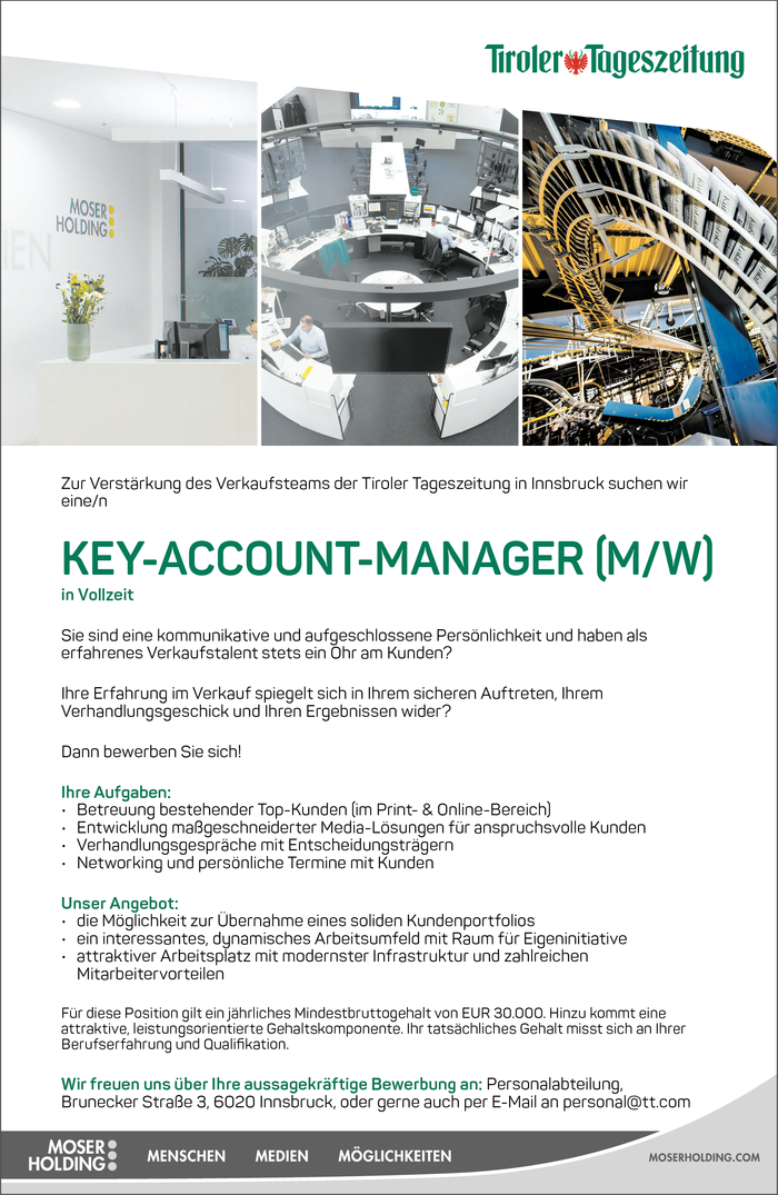Key-Account-Manager (m/w)