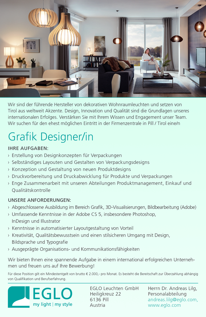 Grafik Designer/in