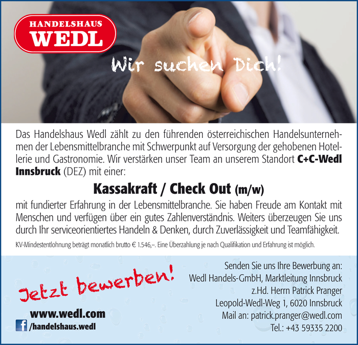 Kassakraft / Check Out (m/w)