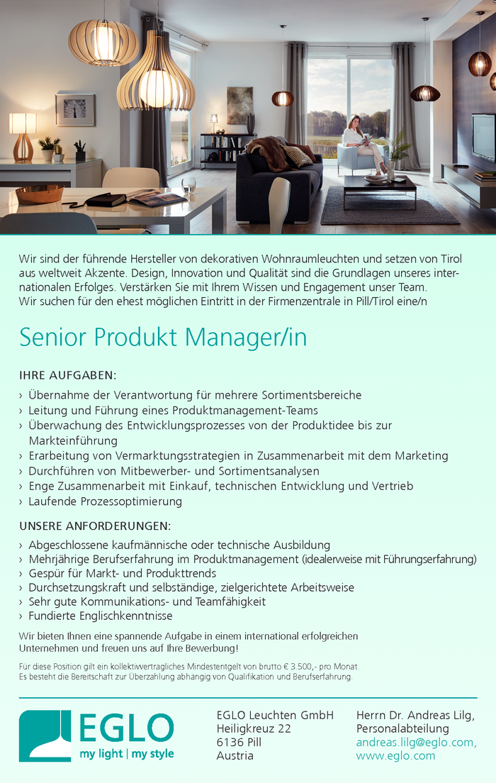 Senior Produkt Manager/in