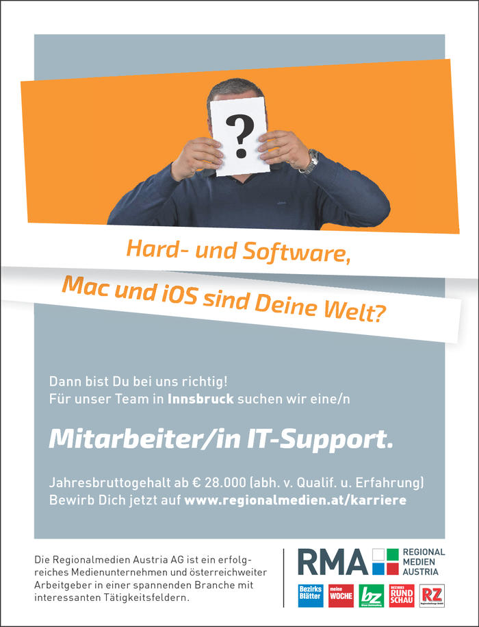 Mitarbeiter/in IT-Support