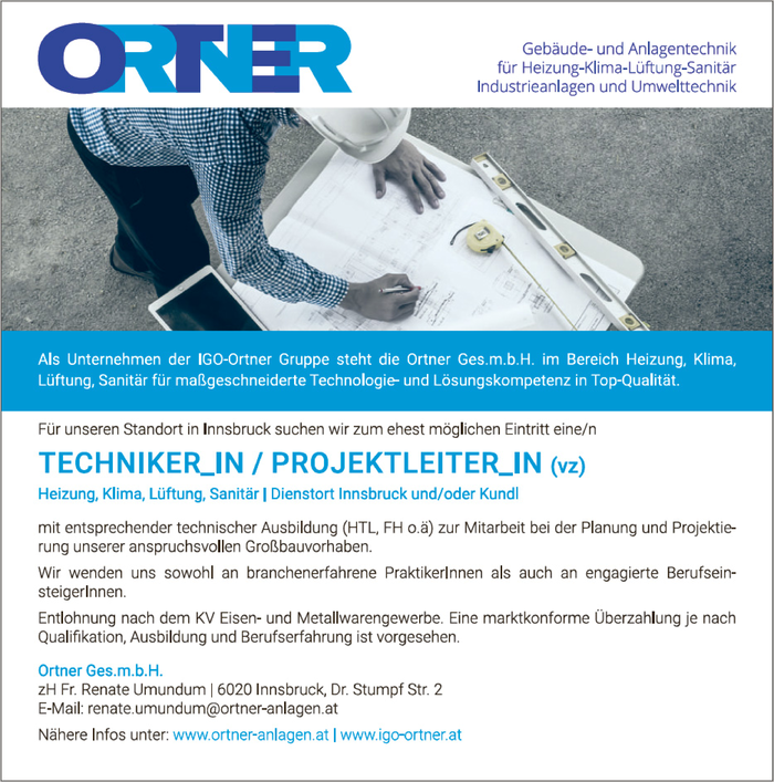 Techniker_in / Projektleiter_in