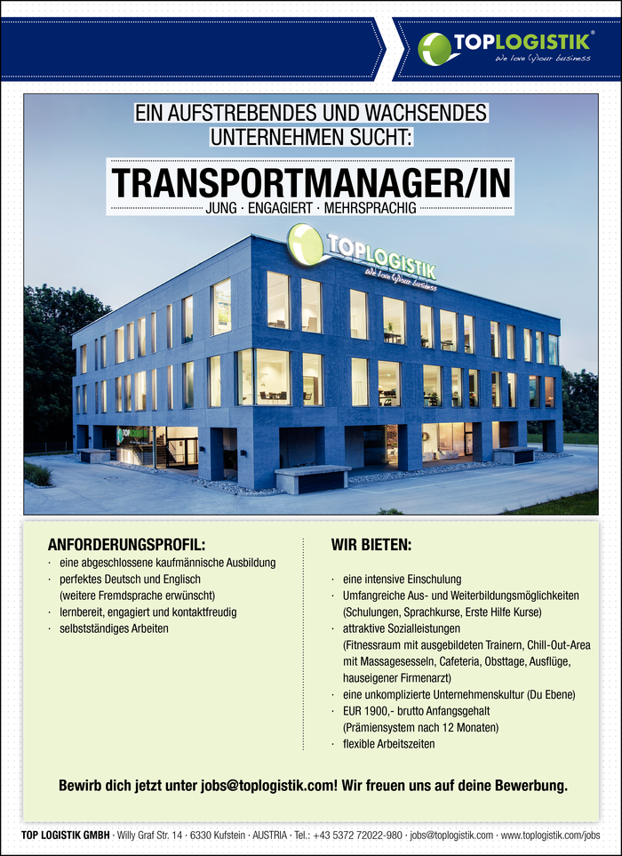 Transportmanager/in