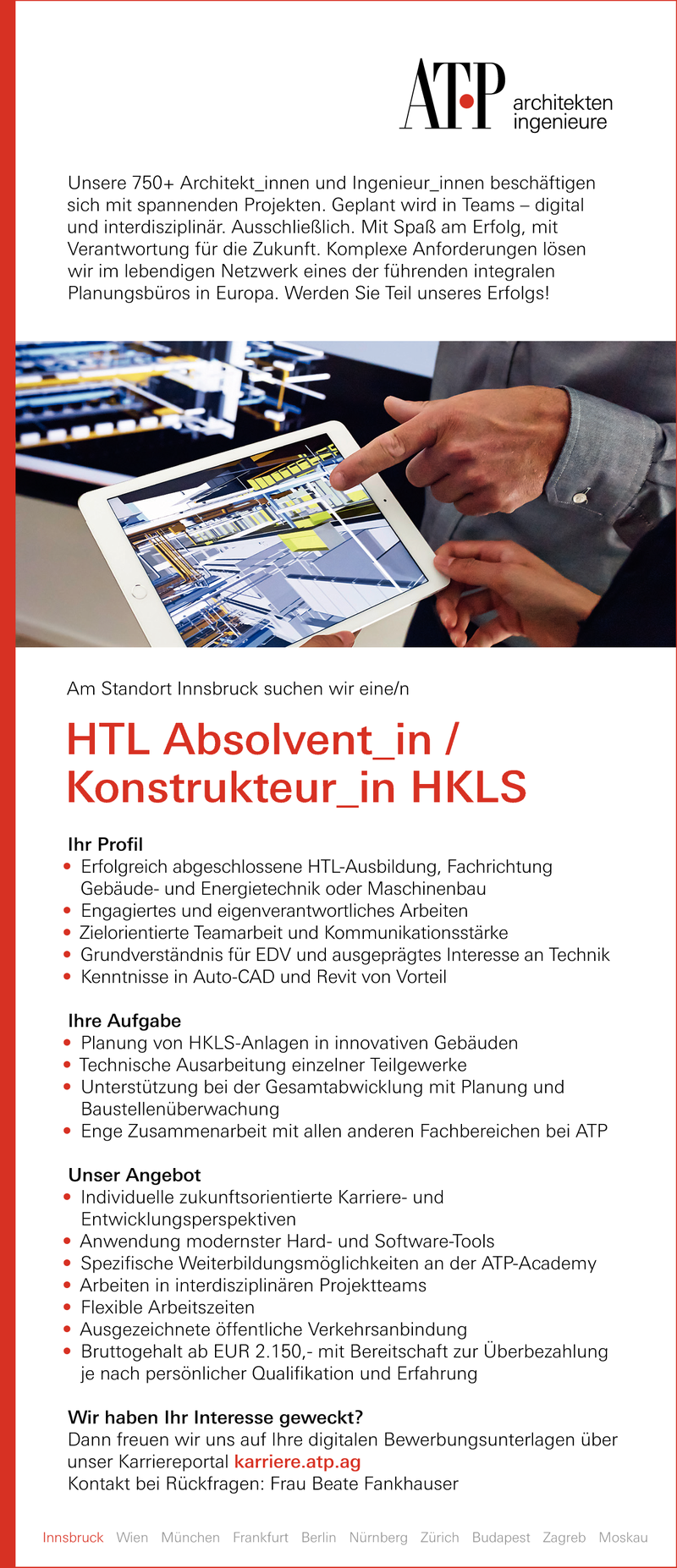 HTL Absolvent_in / Konstrukteur_in HKLS