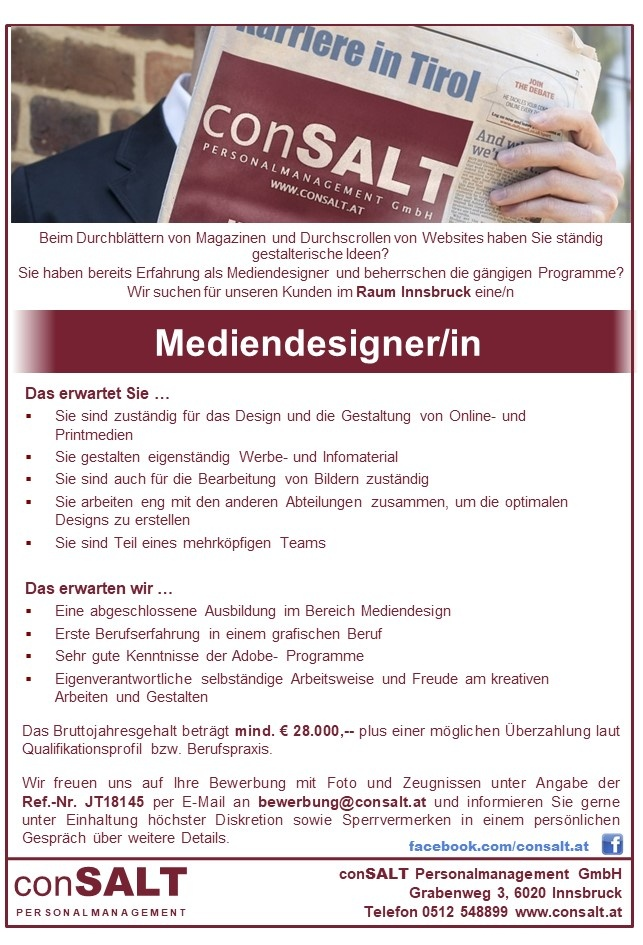 Mediendesigner/in