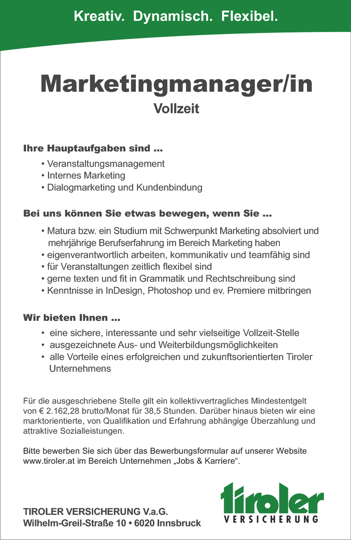 Marketingmanager/in