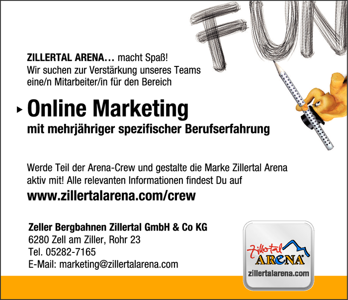 Online Marketing Mitarbeiter/in