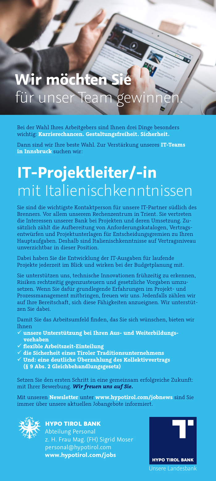 IT-Projektleiter/-in