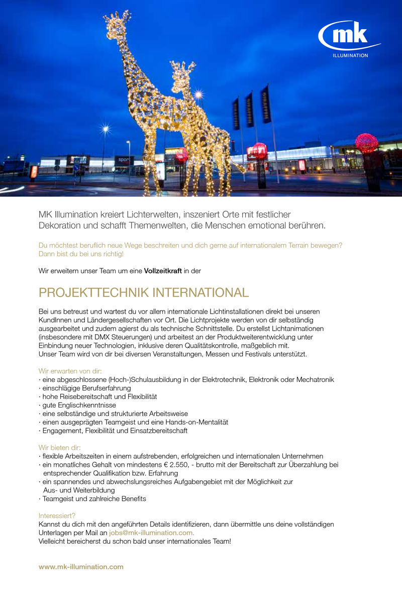 PROJEKTTECHNIK INTERNATIONAL