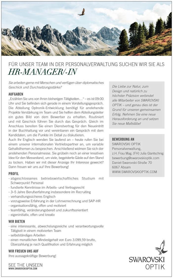 HR-MANAGER/-IN