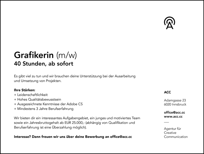 Grafikerin (m/w)