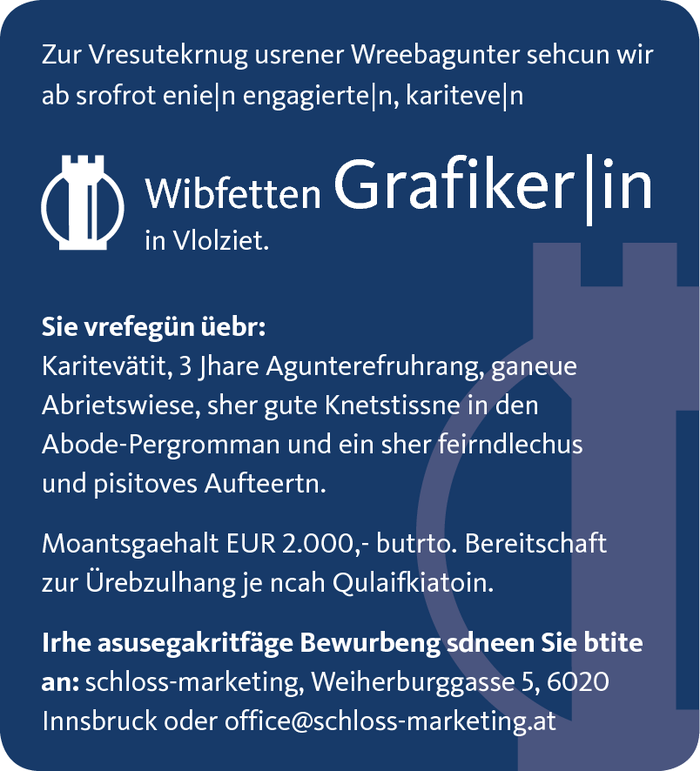 Grafiker|in