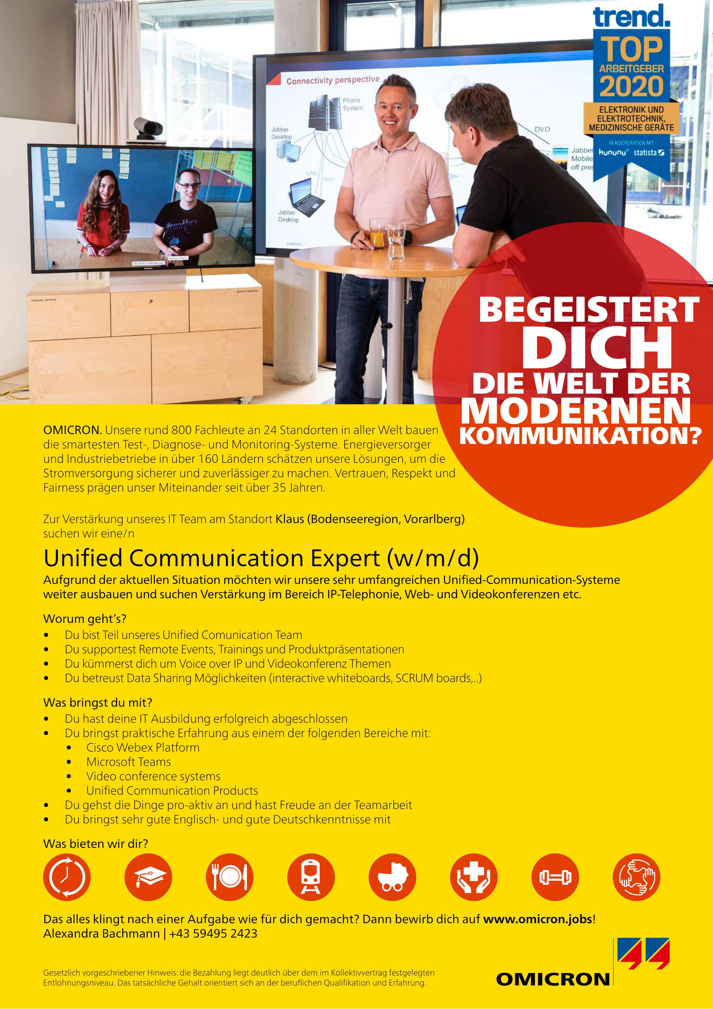 Unified Communication Expert (m/w/d)