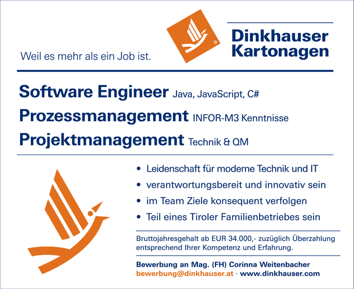 Software Engineer & Prozessmanagement & Projektmanagement