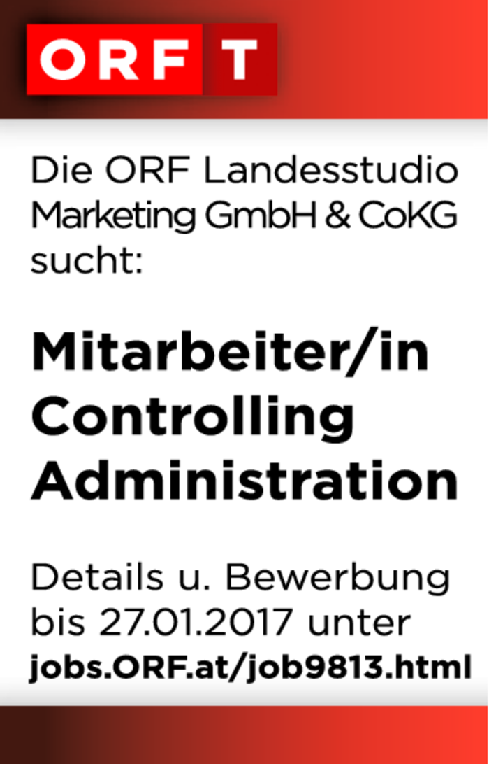 Mitarbeiter/in ​​​​​​​Controlling Administration