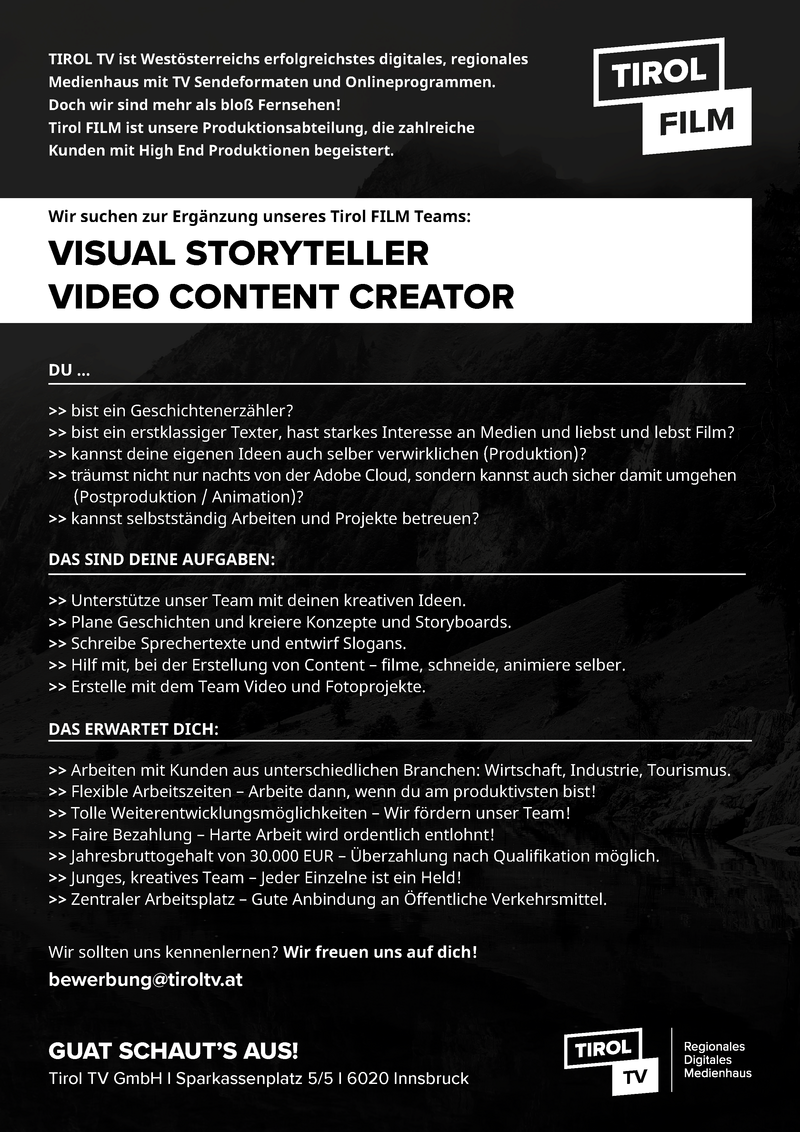 Visual Storyteller - Video Content Creator