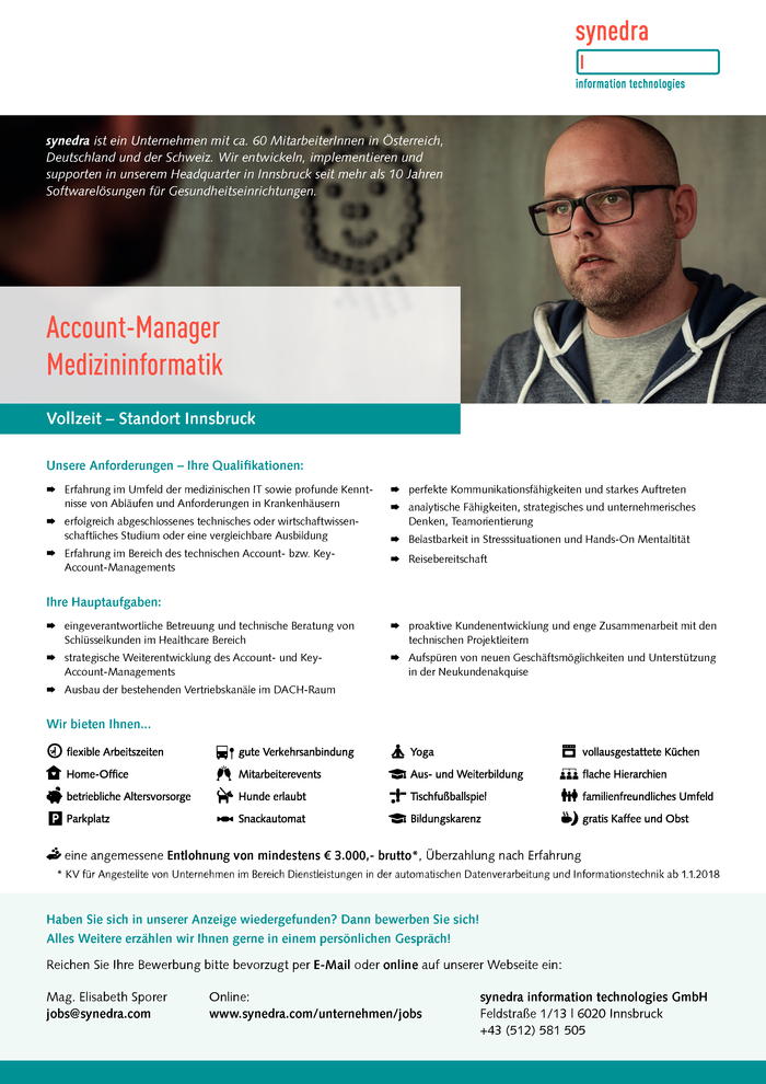 Account-Manager Medizininformatik