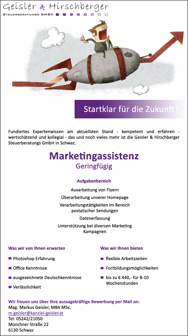 Marketingassistenz