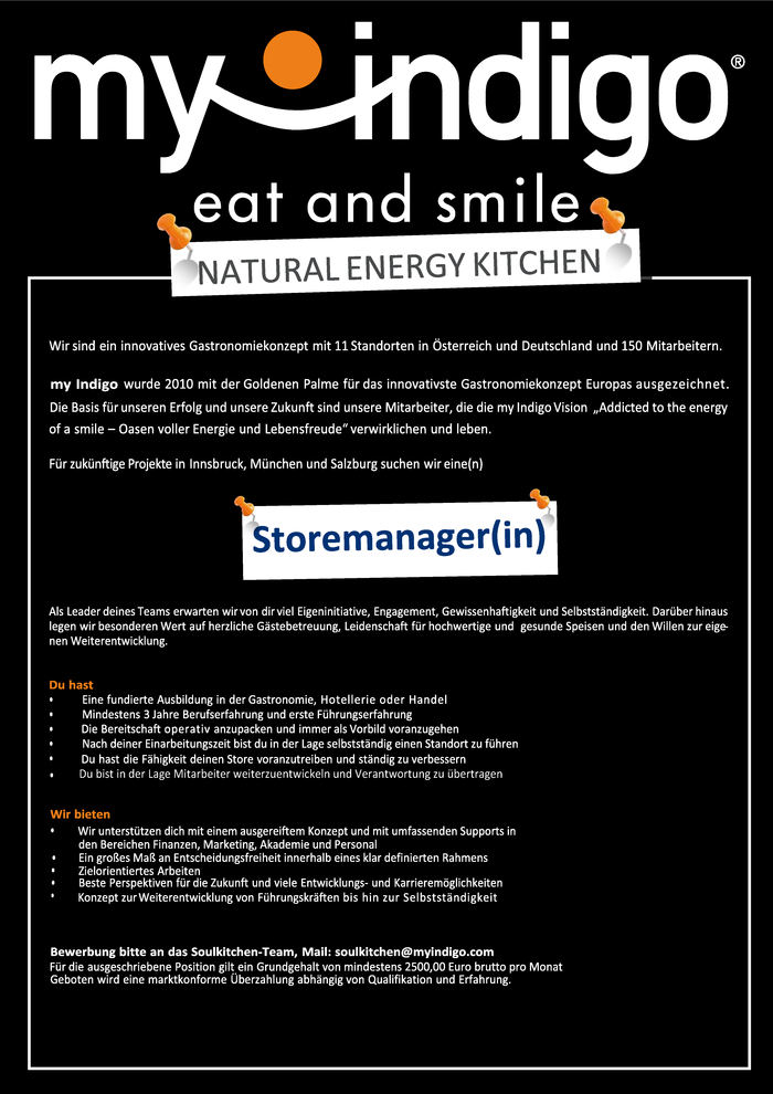 Storemanager(in)