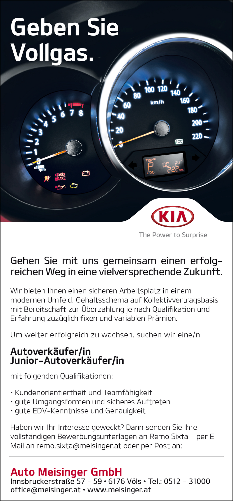 Autoverkäufer/in  - Junior-Autoverkäufer/in