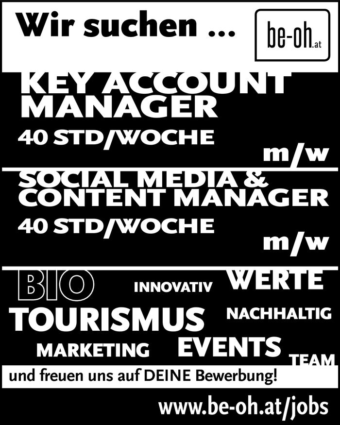 Key Account Manager, Social Media Manager