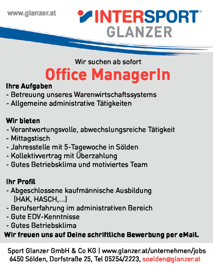 Office ManagerIn
