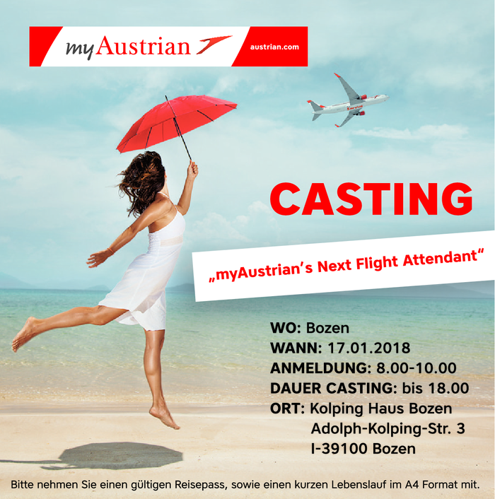 myAustrian's next Flight Attendant