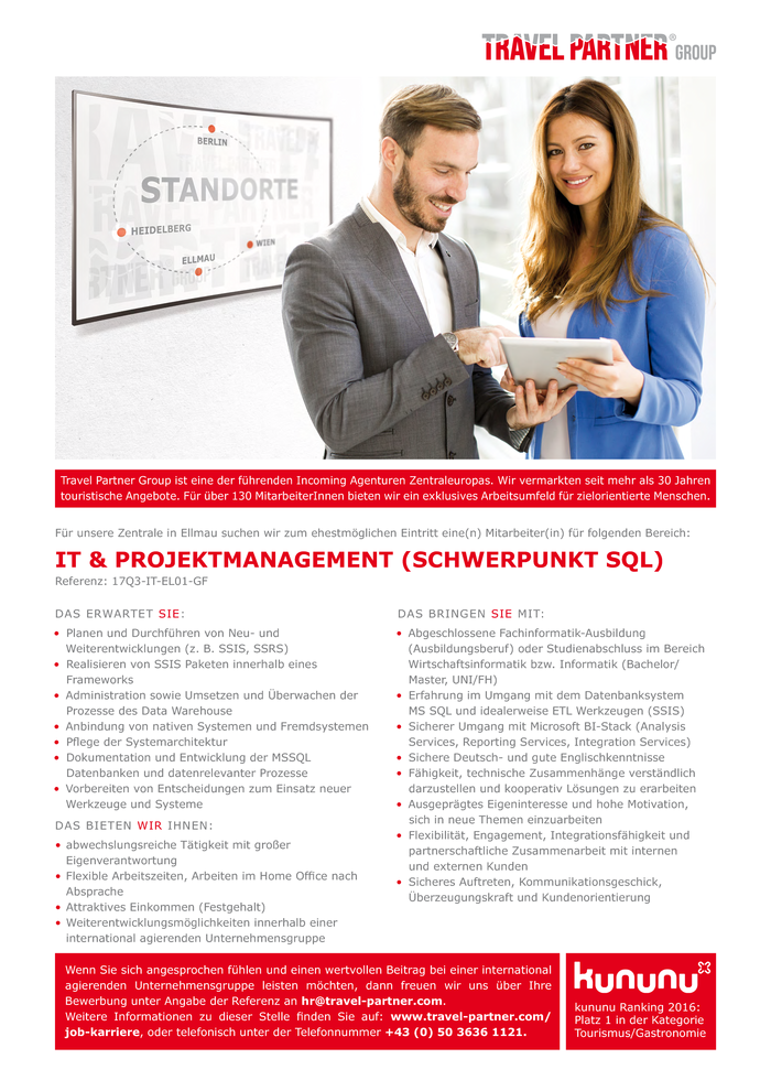 IT & PROJEKTMANAGEMENT (Schwerpunkt SQL)