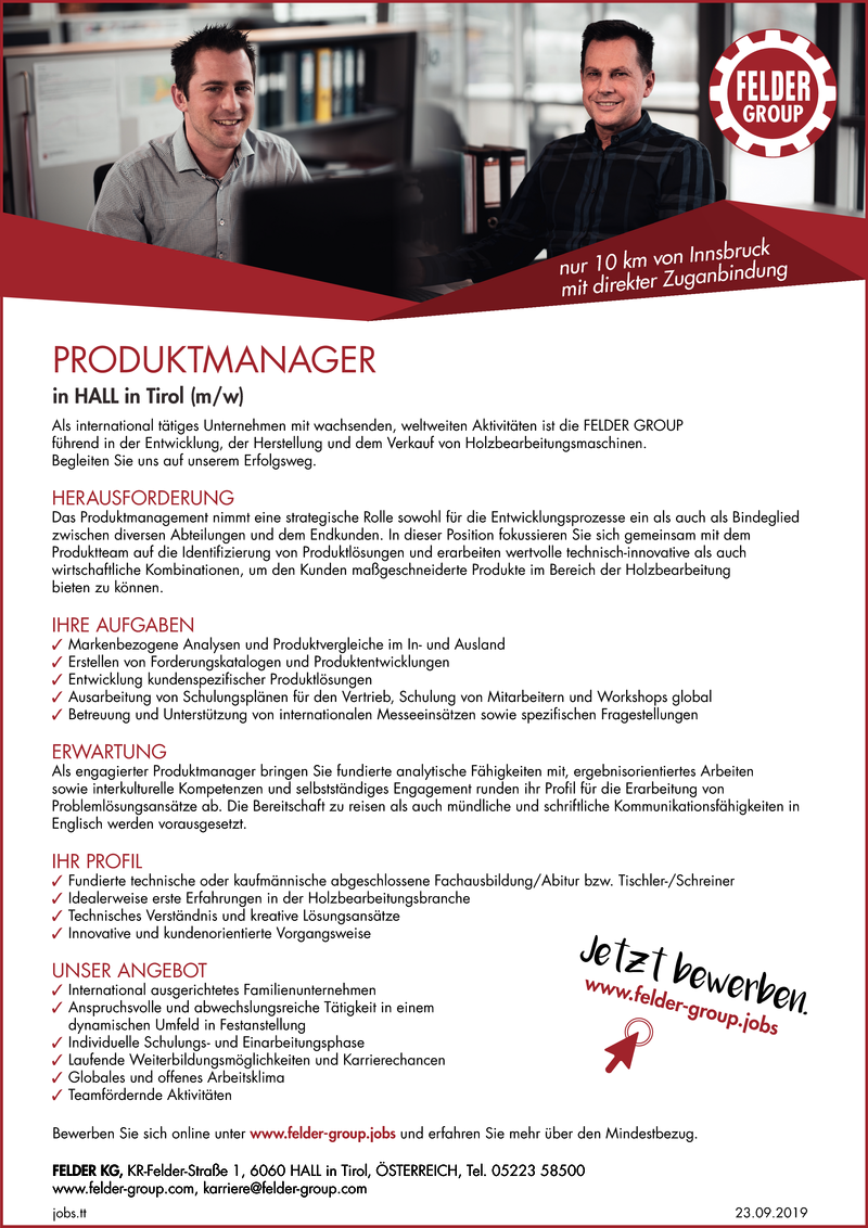 PRODUKTMANAGER