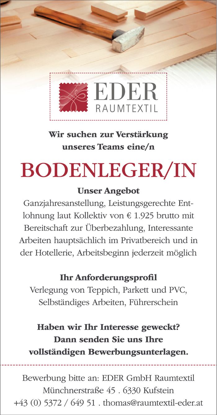 BODENLEGER/IN
