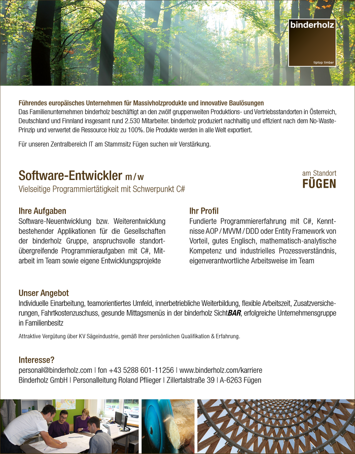 Software-Entwickler m / w