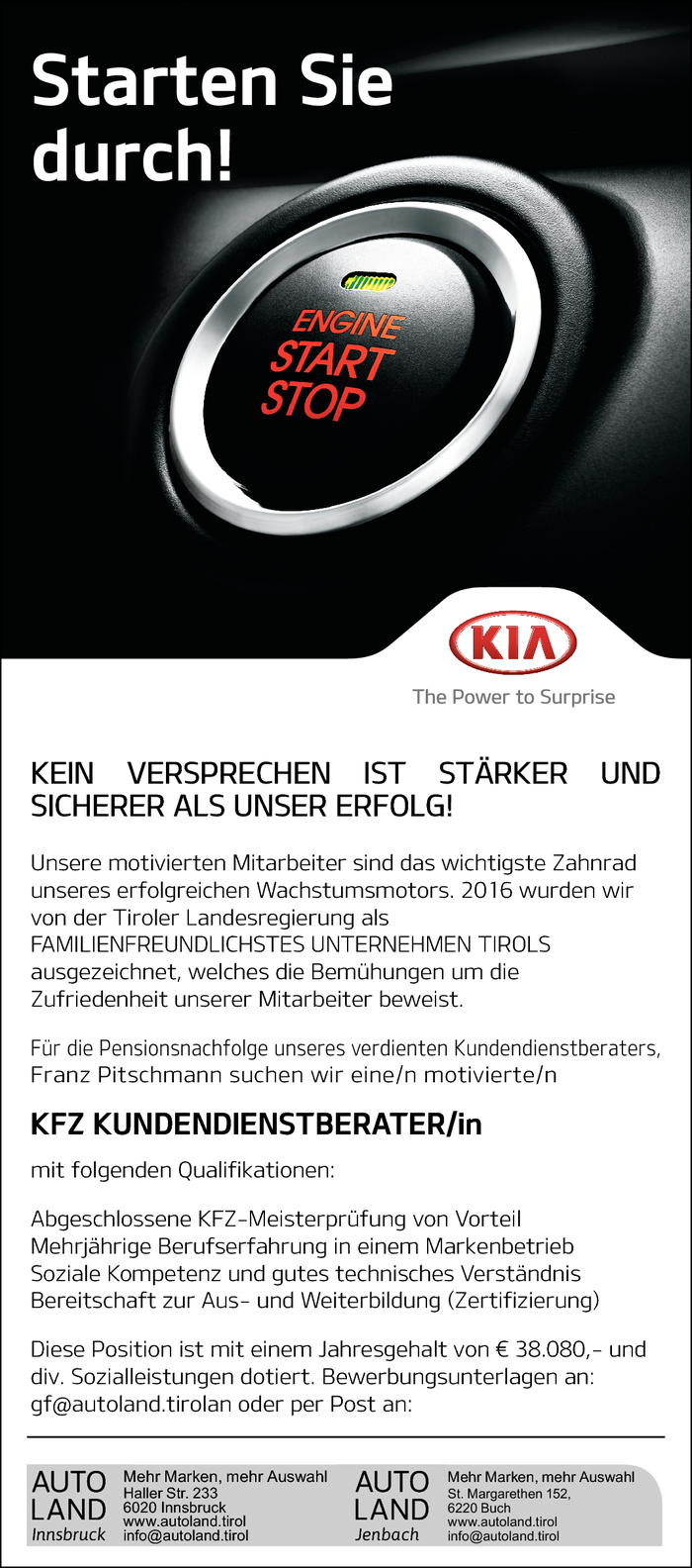 KFZ Kundendienstberater/in