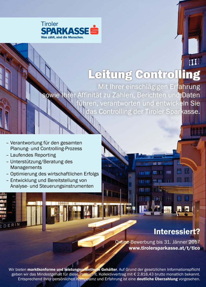 Leitung Controlling