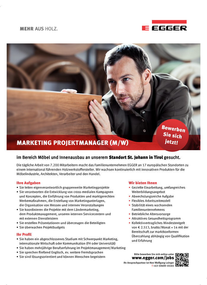 Marketing Projektmanager (m/w)
