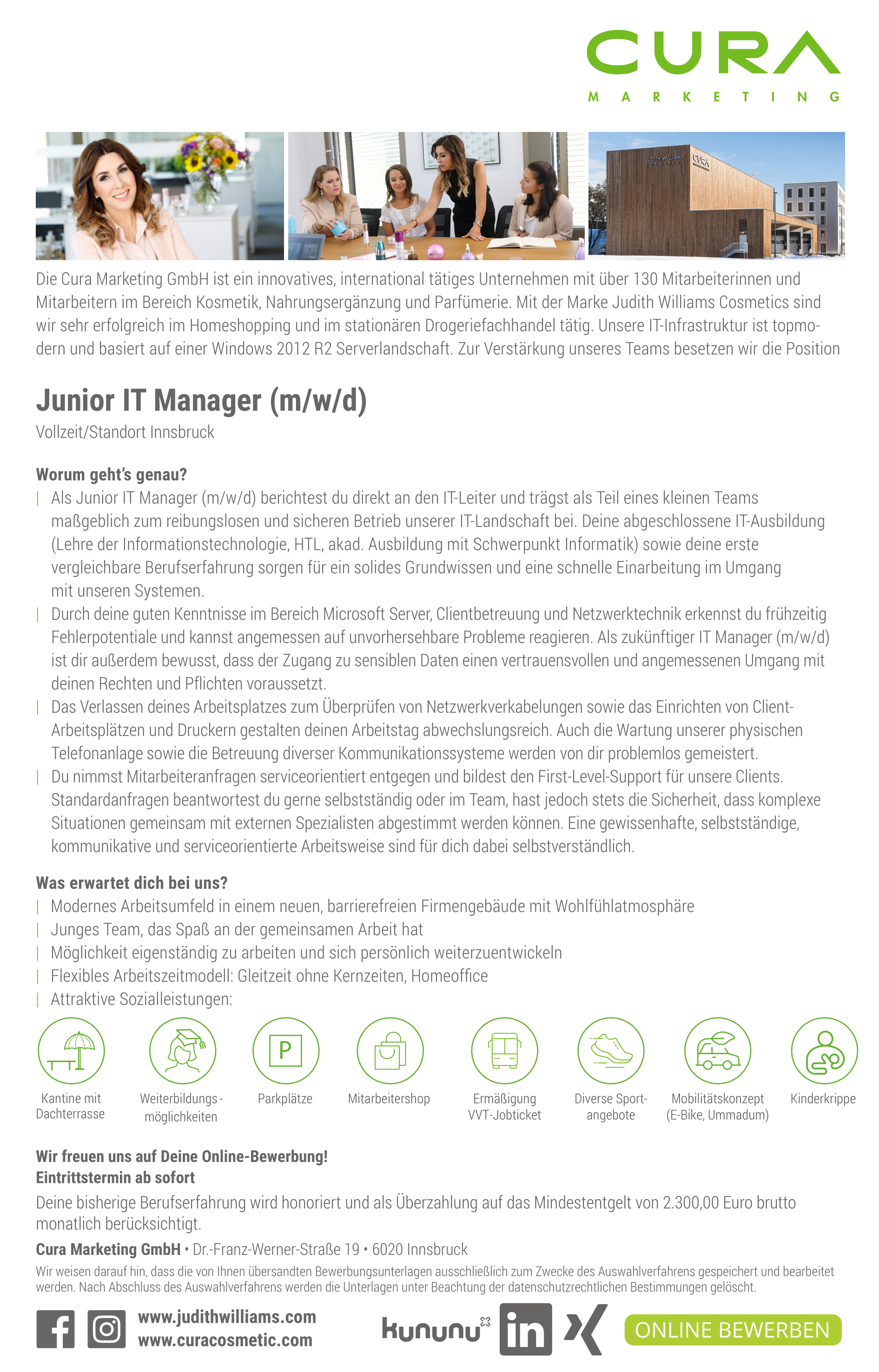 Junior IT Manager (m/w/d)