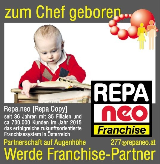 Repa.neo Franchise-Partner