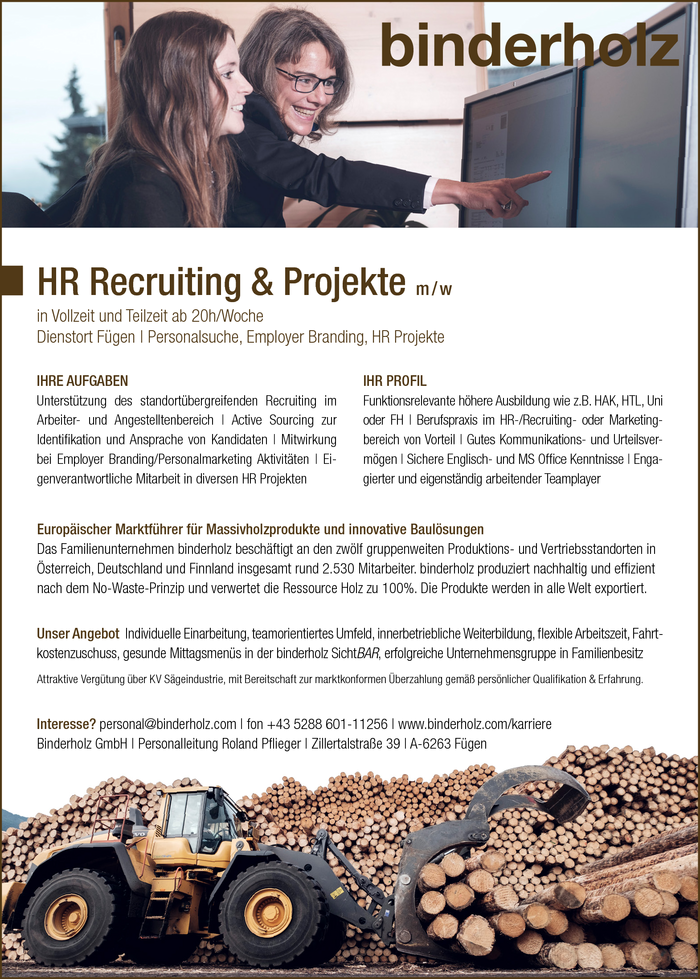 HR Recruiting & Projekte m / w