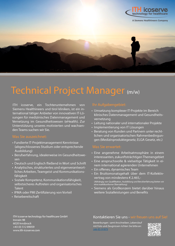 Technical Project Manager (m/w)
