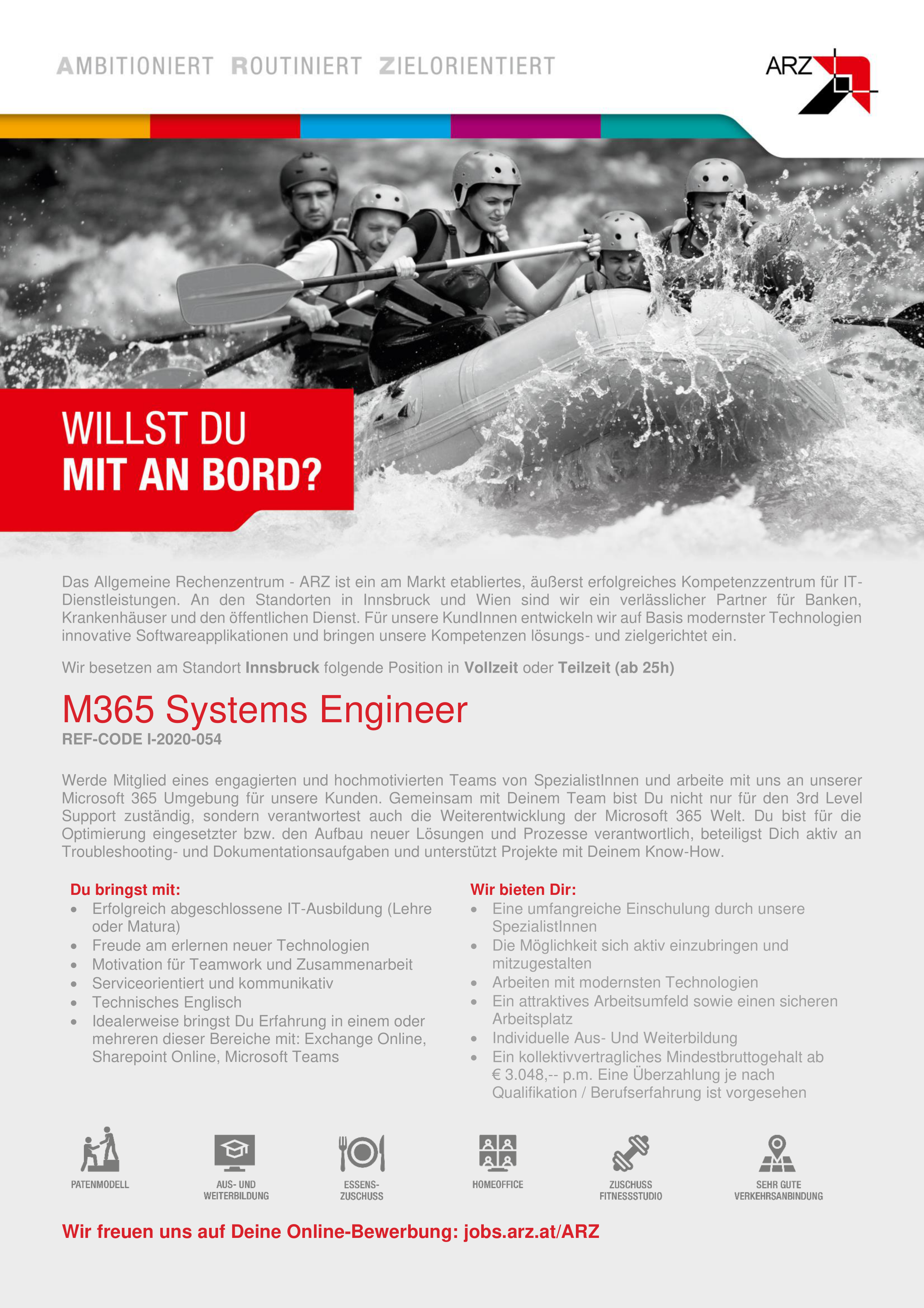 M365 Systems Engineer REF-CODE-I-2020-054